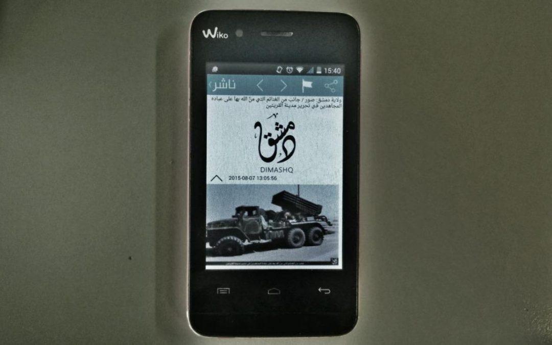 Son téléphone est «le jardin des horreurs» du djihadisme
